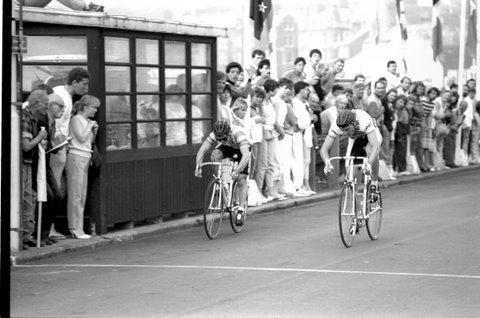 Sprint Finish at Peel